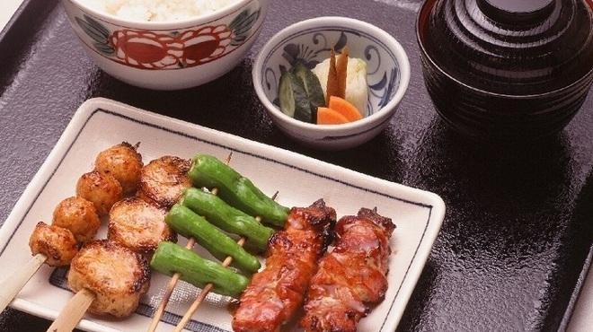 もろ川 - 料理写真:鳥焼定食