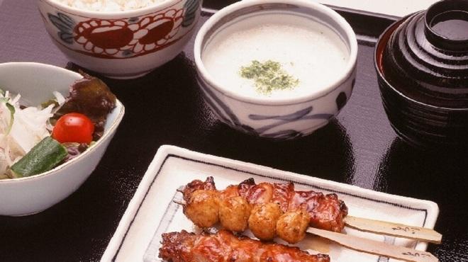 もろ川 - 料理写真:麦とろ定食