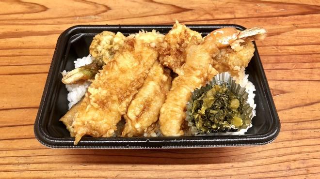 天ぷらすずき - 料理写真: