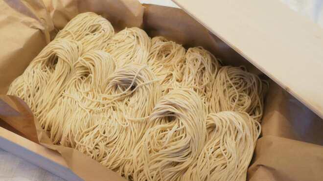 中華蕎麦 三藤 - その他写真:国産小麦の熟成麺