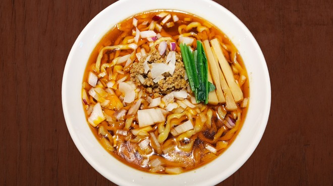 らーめん 恵本将裕 - 料理写真:担担担麺【勝浦タンタン麺インスパイア】