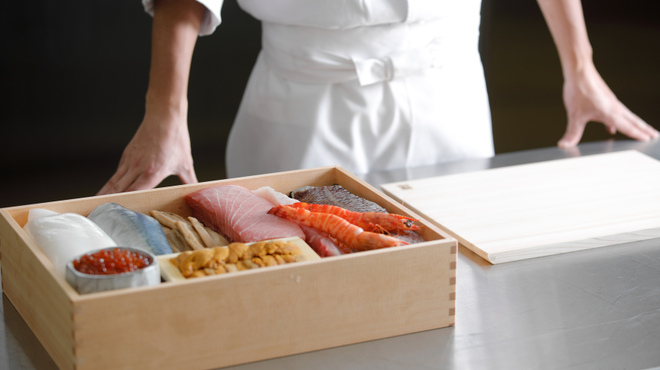 洛空 - 料理写真:【ブッフェ】新鮮なお好きなネタを