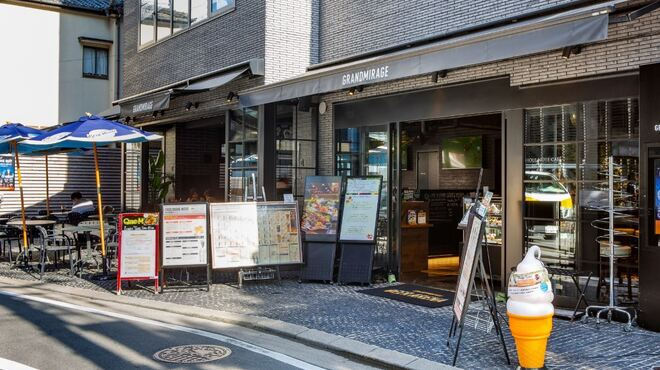 GRANDMIRAGE WHOLE NOTE CAFE - メイン写真: