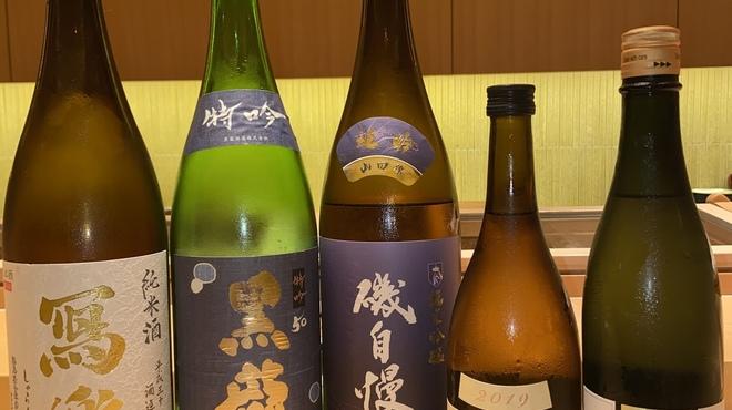 築地すし好 JIN仁 - ドリンク写真:常時5種類以上の日本酒銘柄をご用意しております。
