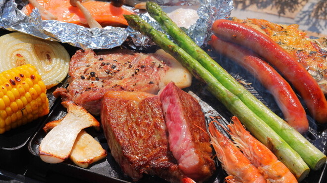 ARK HILLS SOUTH TOWER ROOFTOP LOUNGE 六本木BBQビアガーデン - 料理写真: