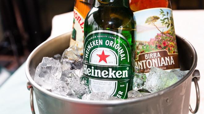 オレンジバルコニー - ドリンク写真:idyllic瓶ビール
