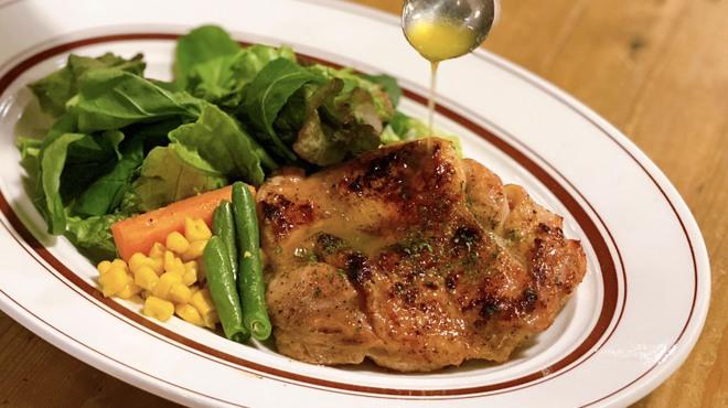 ワインノルイスケ - 料理写真:照り焼きチキンステーキ