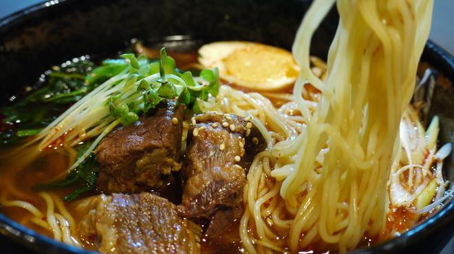 牛若 - 料理写真:カルビラーメン