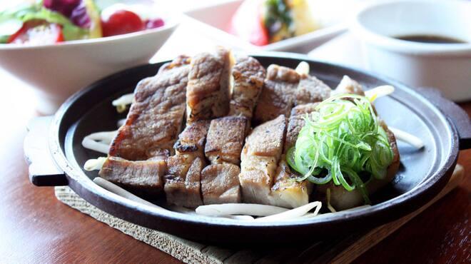 レストラン ラヴァンド - 料理写真:【ランチ】栗豚ステーキ御膳