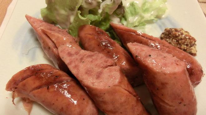 ちゃこ - 料理写真:レア物! 牛タンソーセージ
