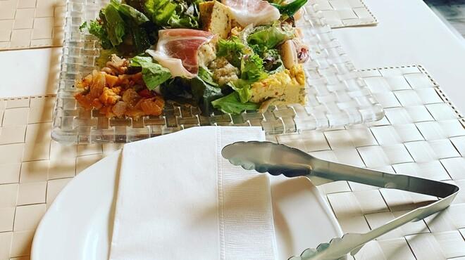 ローザロッチェ - 料理写真:マイトングをご用意