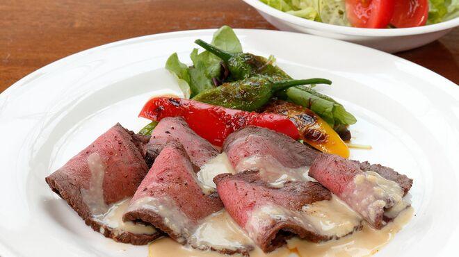 サラダの店サンチョ - 料理写真:期間限定『わさびソースのローストビーフとサラダ』