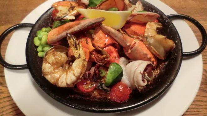 バルカ - 料理写真:海の幸のパエリヤ