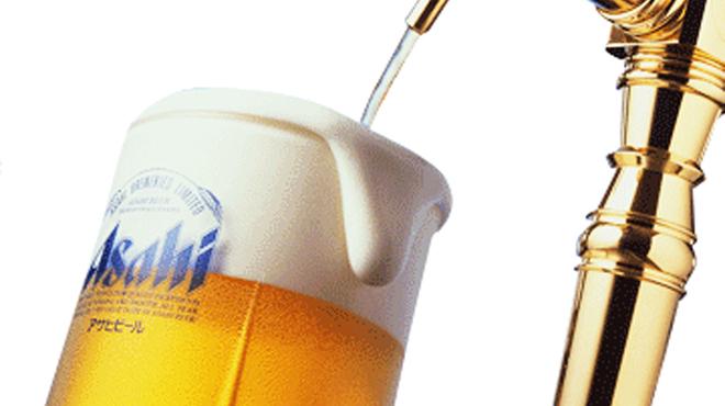 米とサーカス - ドリンク写真:生ビールはアサヒスーパードライ