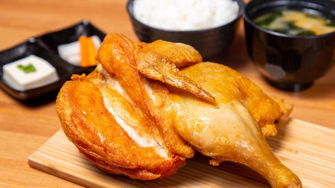 なるとキッチン - 料理写真:若鶏半身揚げ定食