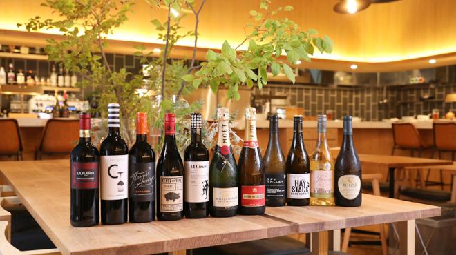 ケゴマチコモン wine&dining - ドリンク写真:ワインヒーローショット