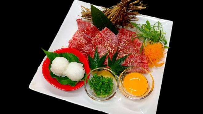 織姫 - 料理写真:大和牛 焼きスキ