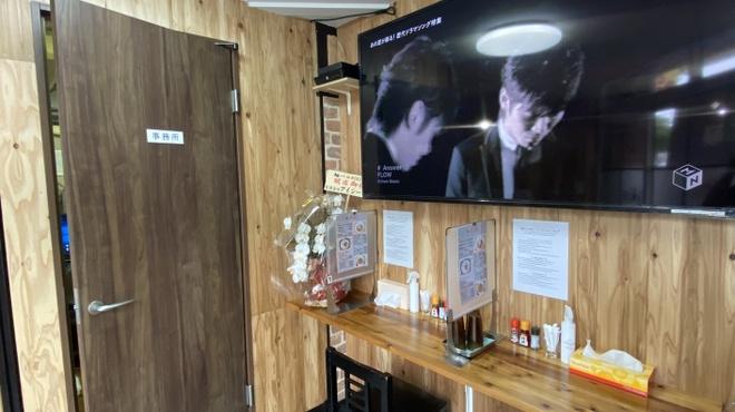 麺バル RIKI - 内観写真:カウンター席