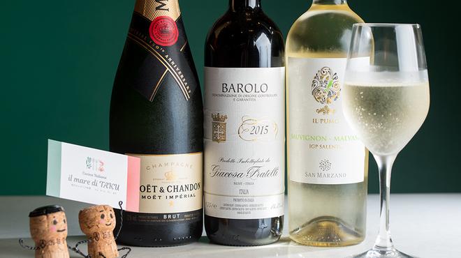 イルマーレ ディ タク - ドリンク写真:ワイン各種