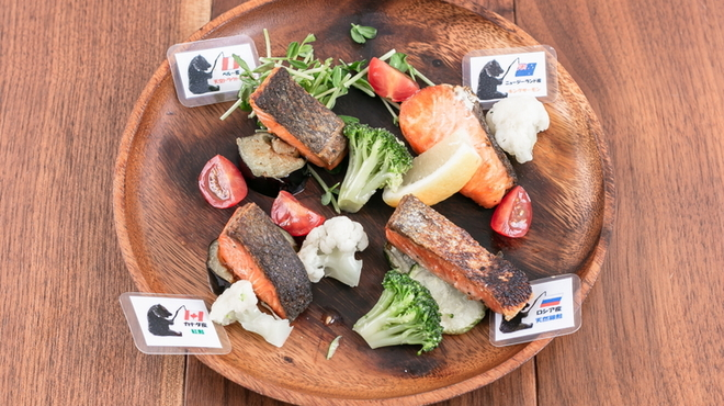 鮭バル SalmonBear - 料理写真: