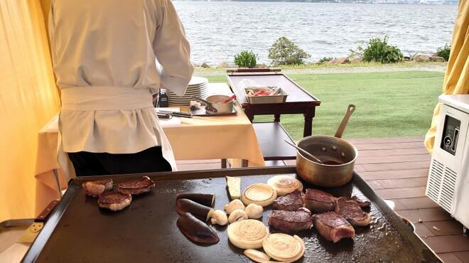 レストラン Rivage - 料理写真:鉄板焼きフェア開催中です♪