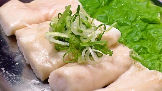銀鍵3・6焼肉店 - 料理写真:牛シロコロ 550円