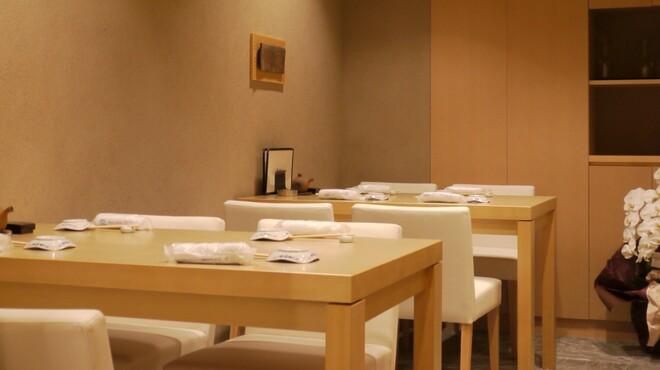 意気な寿し処阿部 - 内観写真:テーブル 4名様