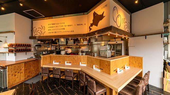下川六〇酵素卵と北海道小麦の生パスタ 麦と卵 - メイン写真: