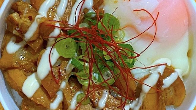 麺バル RIKI - 料理写真:豚チャーシュー丼