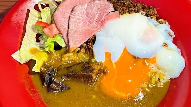 麺バル RIKI - 料理写真:牛テールスパイスカレー