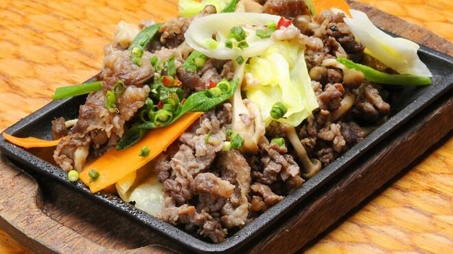 韓花 - 料理写真:牛プルコギ