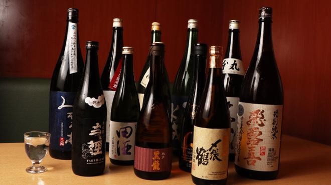 意気な寿し処阿部 - ドリンク写真:日本酒
