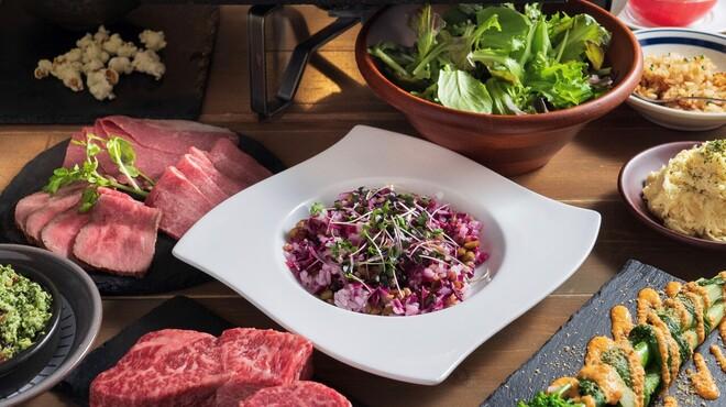 熟成和牛ステーキ グリルド エイジング・ビーフ - 料理写真:ステーキ5種コース