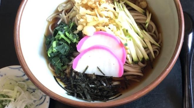 駒そば亭 - 料理写真:冷やしたぬきそば