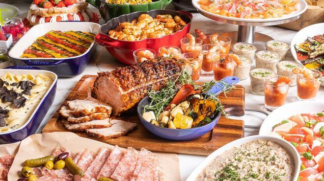 フレンチ キッチン - 料理写真:ランチブッフェ