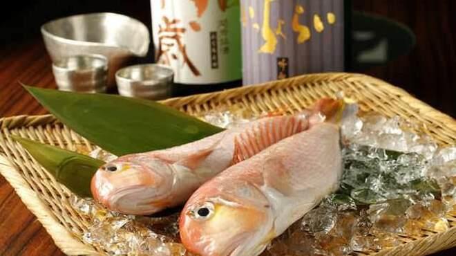 日本酒スローフード 方舟 大吟醸 いろり - メイン写真: