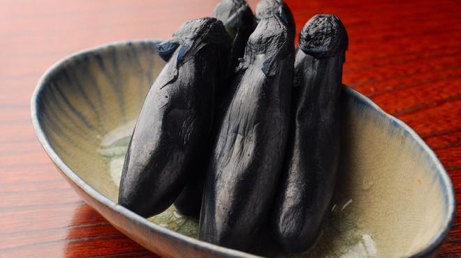 地雷也 - 料理写真:茄子一夜付