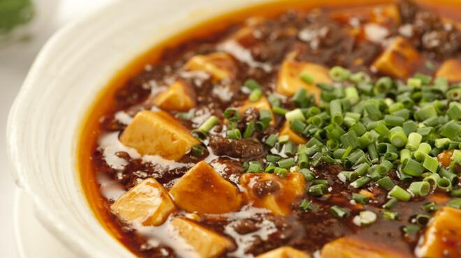 黄鶴楼 - 料理写真:四川麻婆豆腐