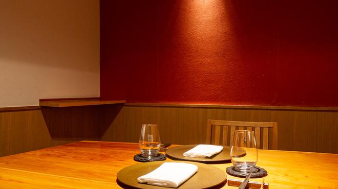 ALTER EGO - 内観写真:ゆったりと座れる完全個室