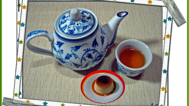 サイゴンマジェスティック - 料理写真:ジャスミン茶セット 【ベトナムのお茶とベトナム風のプリンが一遍で楽しめます♪】