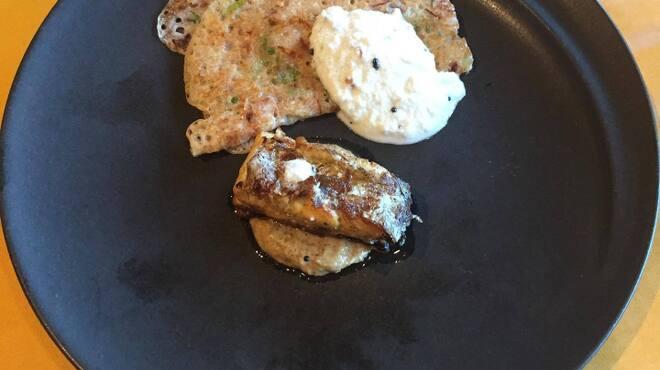 Spice&Dining KALA - 料理写真:太刀魚のワルワルとラヴァドーサ