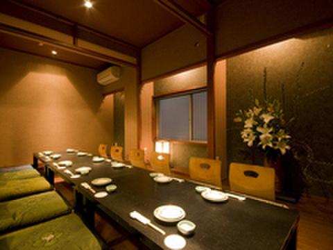 いちくら - 料理写真:完全個室。接待や特別なお食事の席にも。