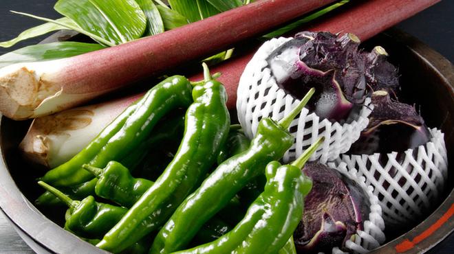 花山椒 - 料理写真:当店自慢の京野菜の数々
