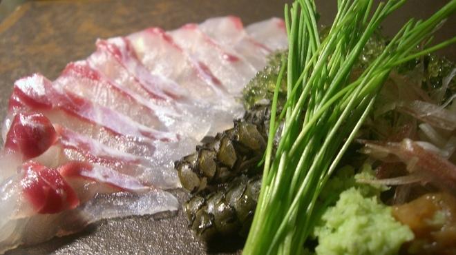 H - 料理写真:旬の白身魚