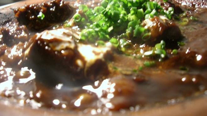 H - 料理写真:和牛味噌煮込み