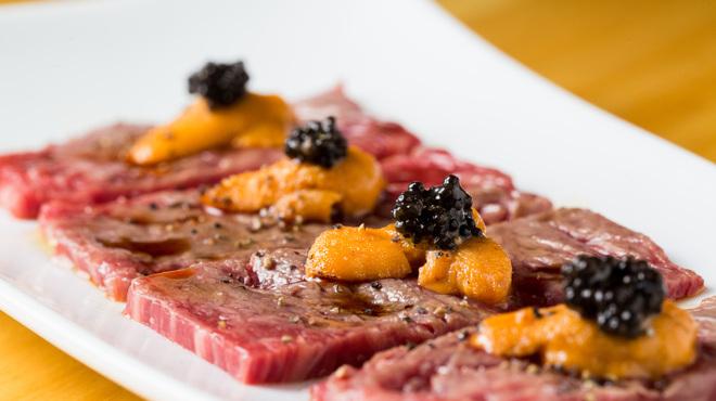 ミートバル 肉たらし - 料理写真:雲丹巻き