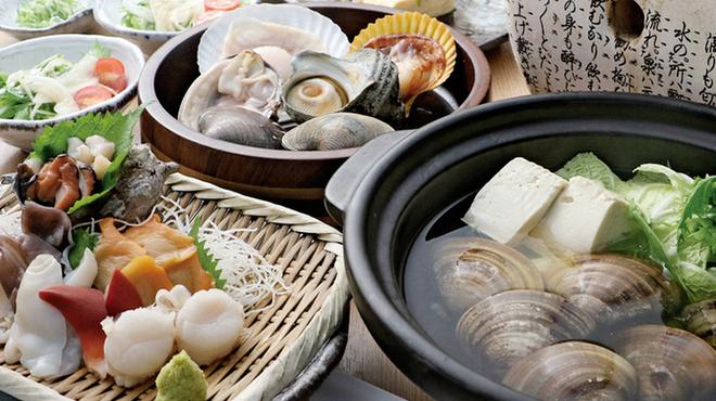 三重を喰らえ 貝ばか一代 - 料理写真:貝ばか満足セット