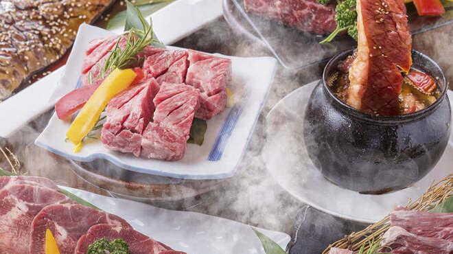 黒毛和牛×焼肉食べ放題 牛丸 - メイン写真: