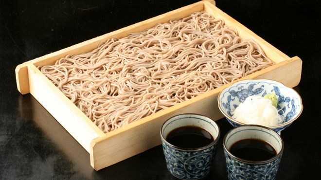 間人 - 料理写真:山形板そば