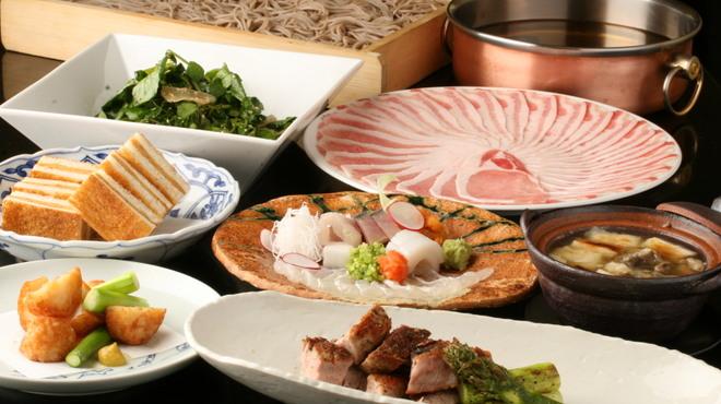 まにん - 料理写真:黒豚しゃぶすきセット